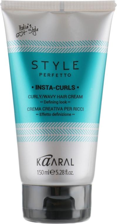 Крем для формирования завитков - Kaaral Style Perfetto Insta Curls Curly Wavy Hair Cream