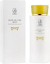 Духи, Парфюмерия, косметика Молочко для снятия макияжа - Lambre Olive Oil Line Milk