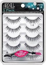 Духи, Парфюмерия, косметика Набор накладных ресниц - Ardell 5 Pack 110 Natural Black Lashes