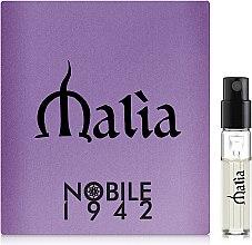 Духи, Парфюмерия, косметика Nobile 1942 Malia - Парфюмированная вода (пробник)