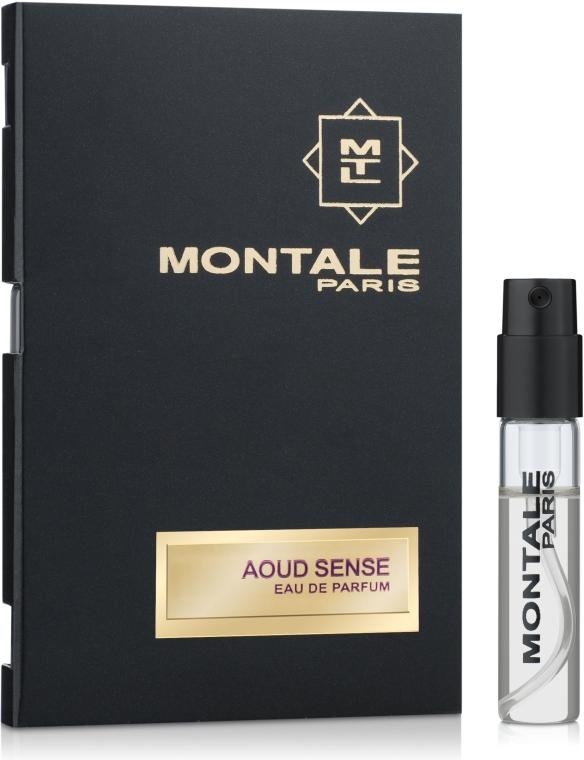 Montale Aoud Sense - Парфюмированная вода (пробник)