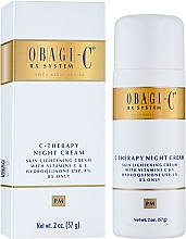 Духи, Парфюмерия, косметика Ночной крем - Obagi Medical C-Therapy Night Cream