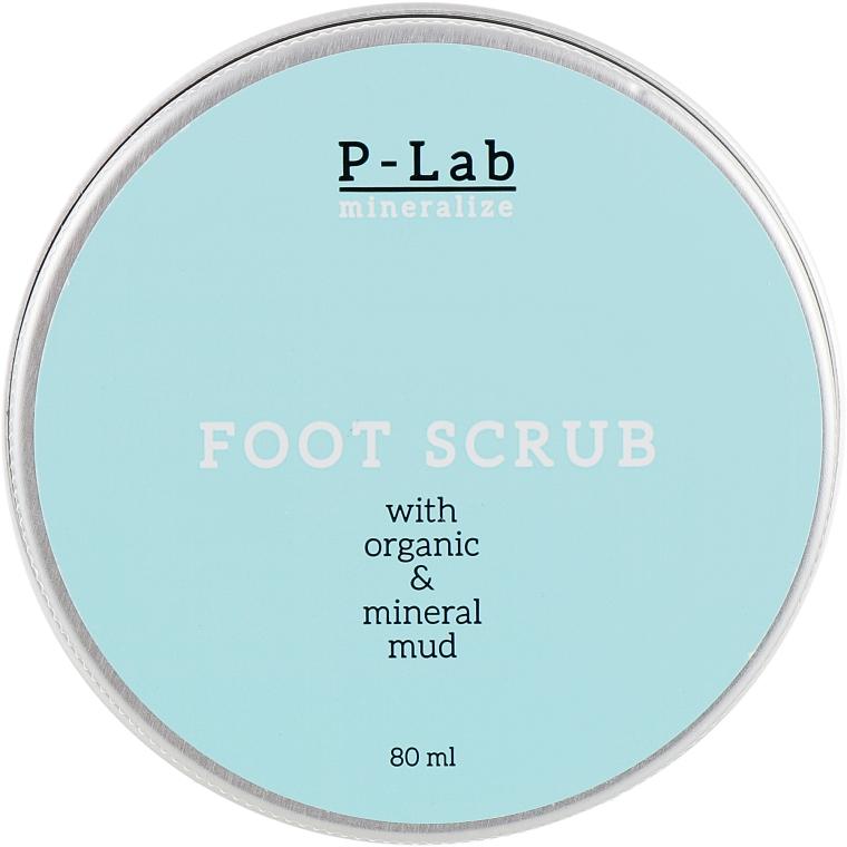 Минеральный скраб для ног - Pelovit-R P-Lab Mineralize Foot Scrub