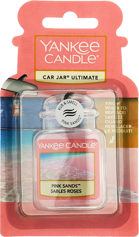 """Ароматизатор для автомобиля """"Розовые пески"""" - Yankee Candle Car Jar Ultimate Pink Sands"""
