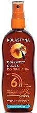 Духи, Парфюмерия, косметика Масло-спрей для загара водостойкое - Kolastyna SPF6