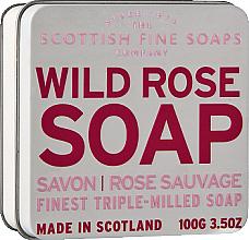 "Духи, Парфюмерия, косметика Мыло ""Дикая роза"" - Scottish Fine Soaps Wild Rose Soap In A Tin"