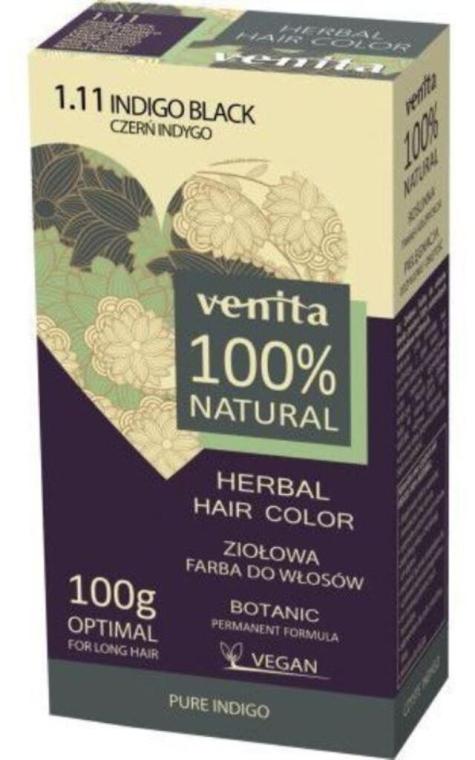 Хна для волос - Venita Natural Herbal Hair Color