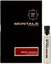 Парфумерія, косметика Montale Red Aoud - Парфумована вода (пробник)