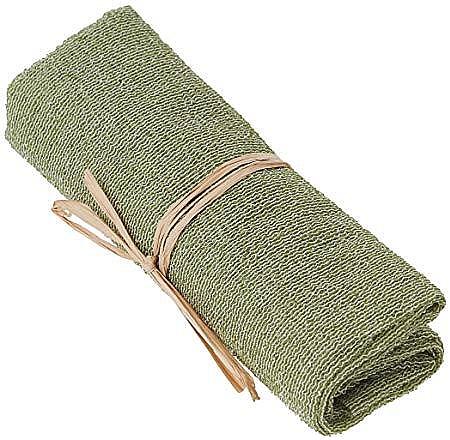 Отшелушивающее нейлоновое полотенце для тела, зеленое - The Body Shop Body Polisher