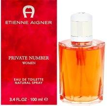 Духи, Парфюмерия, косметика Aigner Private Number - Туалетная вода