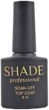 Духи, Парфюмерия, косметика Финишное покрытие без липкого слоя - SHADE Soak-Off Top Coat