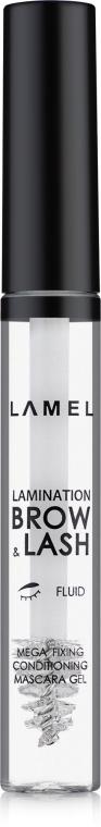 Гель для бровей и ресниц с эффектом ламинирования - Lamel Professional Lamination Brow & Lash