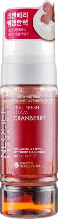 Пенка для умывания лица с ягодами клюквы - Neogen Dermalogy Real Fresh Foam Cranberry