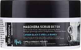 Духи, Парфюмерия, косметика Маска-скраб для волос - Bio Happy Carbon Black & White Clay Scrub Mask