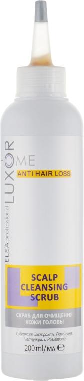 Скраб для очищения кожи головы - Elea Professional Luxor Home