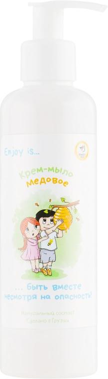 """Натуральное жидкое мыло """"Медовое"""" - Enjoy & Joy Eco"""
