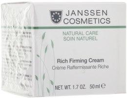 Духи, Парфюмерия, косметика Увлажняющий лифтинг-крем - Janssen Cosmetics Rich Firming Cream
