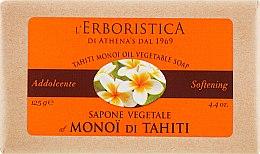 Духи, Парфюмерия, косметика Натуральное мыло - Athena's Erboristica Tahiti Monoi Oil Vegetable Soap