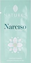 Духи, Парфюмерия, косметика Nature's Narciso Noble - Крем для тела (пробник)