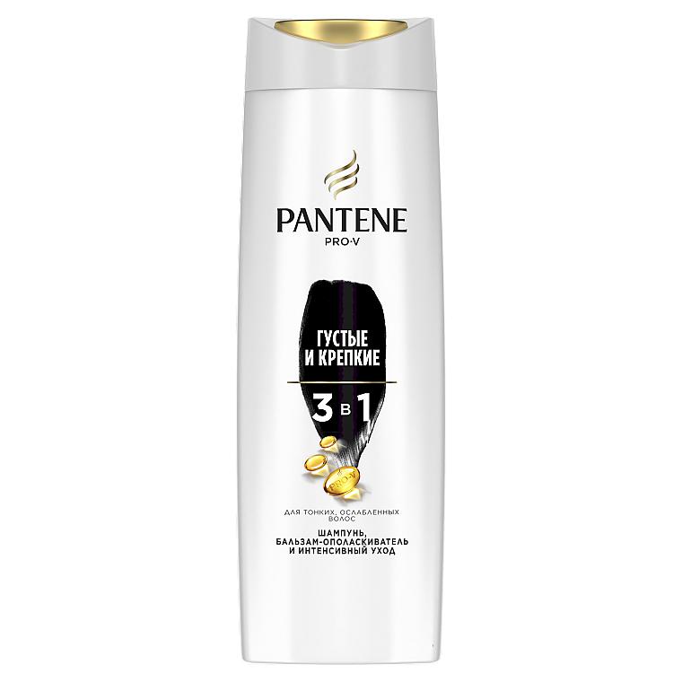 """Шампунь 3в1 """"Густые и крепкие"""" - Pantene Pro-V Total Fullness Shampoo"""