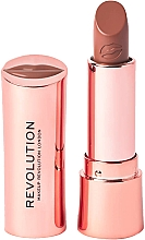 Духи, Парфюмерия, косметика Помада для губ - Makeup Revolution Satin Kiss Lipstick