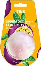 "Духи, Парфюмерия, косметика Бомбочка-гейзер для ванны ""Маракуйя"" - Tink Superfood For Body Passion Fruit Bath Bomb"