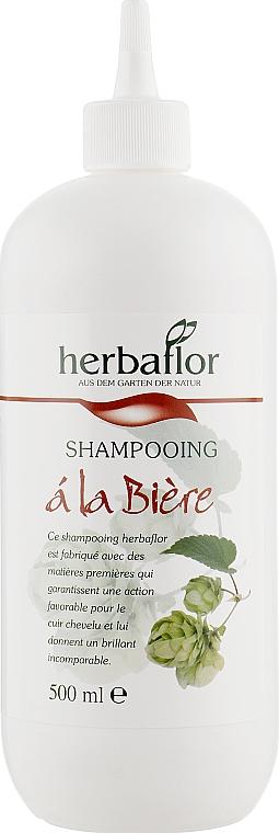 Шампунь для волос с экстрактом хмеля - Herbaflor Beer Shampoo