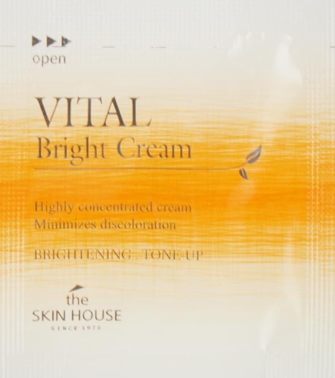 Витаминизированный крем для ровного тона лица - The Skin House Vital Bright Cream (пробник)
