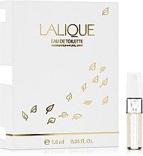Духи, Парфюмерия, косметика Lalique Eau de Toilette - Туалетная вода (пробник)