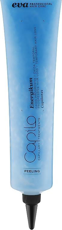 Пилинг от прогрессирующего и временного выпадения волос - Eva Professional Capilo Energikum Peeling №21