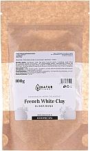 Духи, Парфюмерия, косметика Маска для лица с белой глиной - Natur Planet French White Clay