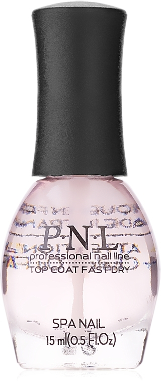 Экспресс сушка для ногтей - PNL Professional Nail Line Top Coat Fast Dry