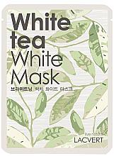 """Духи, Парфюмерия, косметика Маска для лица тканевая """"Белый чай"""" - Lacvert White Tea White Mask"""