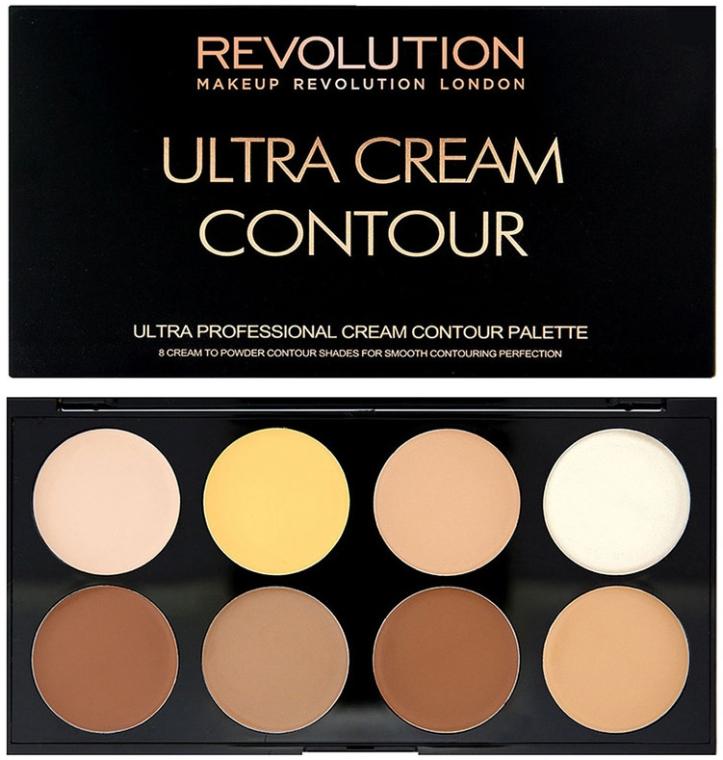 Палетка для контуринга кремовая - Makeup Revolution Ultra Cream Contour Palette