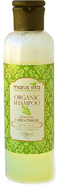Шампунь с кератином и молочными протеинами - Marus Vita