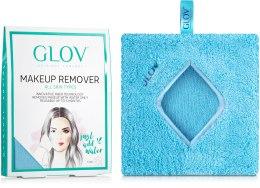Духи, Парфюмерия, косметика Рукавичка для снятия макияжа, синяя - Glov Comfort Makeup Remover