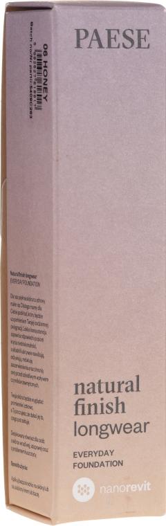 Тональный крем - Paese Natural Finish Longwear