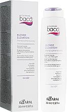 Духи, Парфюмерия, косметика Шампунь для светлых и седых волос - Kaaral Васо Blonde Elevation Shampoo