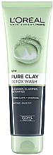 Духи, Парфюмерия, косметика Гель для умывания - L'Oreal Paris Skin Expert Pure Clay Detox Foam Wash