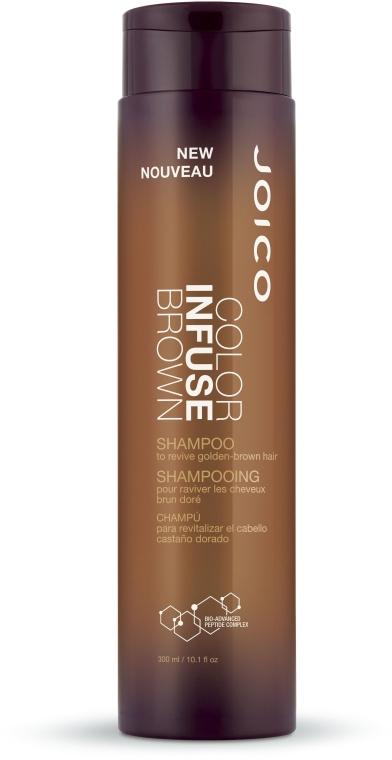 Оттеночный шампунь, коричневый - Joico Color Infuse Brown Shampoo