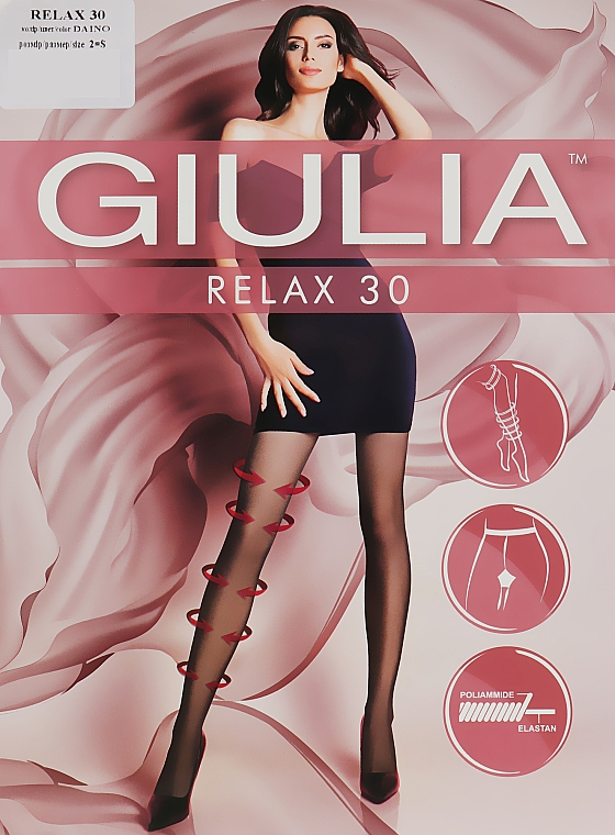 "Колготки ""Relax"" 30 Den, daino - Giulia"