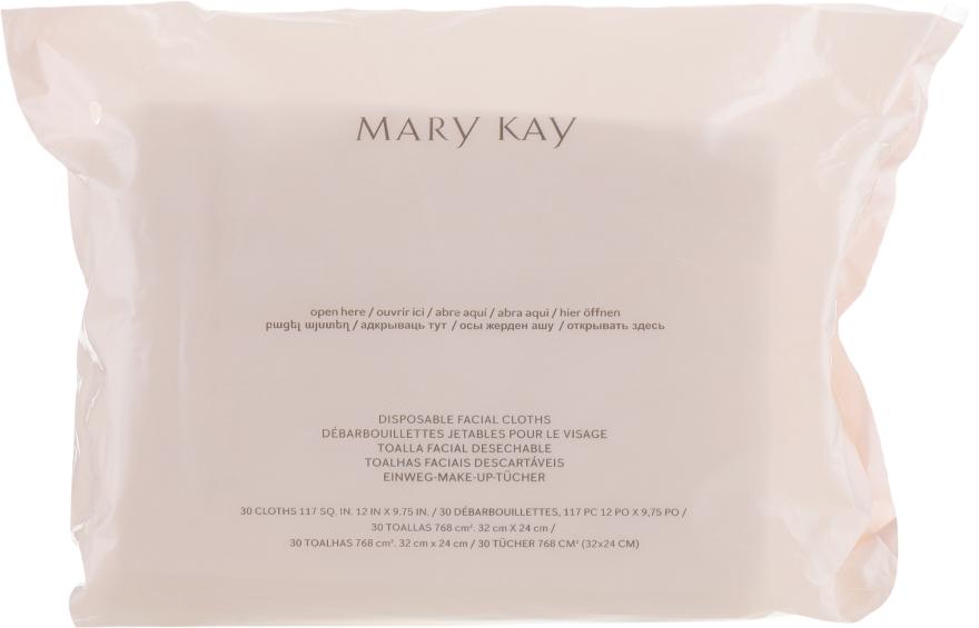 Одноразовые салфетки для лица - Mary Kay Disposable Facial Cloths