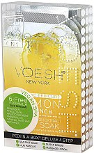 "Духи, Парфюмерия, косметика Набор для педикюра ""Лимон"" - Voesh Pedi In A Box Deluxe Pedicure Lemon Quench"