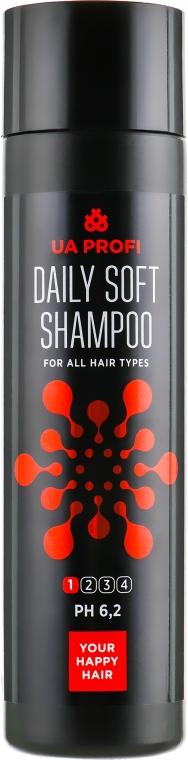 """Шампунь """"Ежедневный мягкий"""" для всех типов волос - UA Profi Daily Soft Shampoo 1 Ph 6,2"""