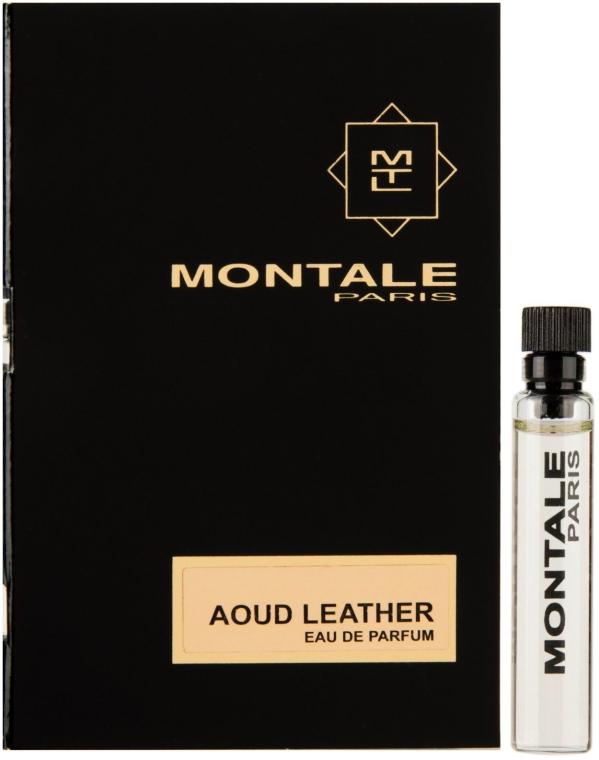 Montale Aoud Leather - Парфюмированная вода (пробник)