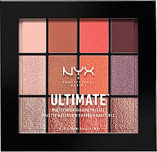 Духи, Парфюмерия, косметика Палетка теней - NYX Professional Makeup Ultimate Multi-Finish Shadow Palette