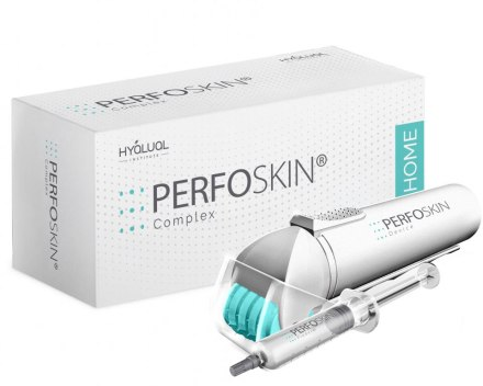 Anti-age комплекс - Institute Hyalual Anti-age Perfoskin Home Complex (roller/1шт + prederm/5ml)
