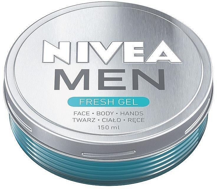 Увлажняющий крем-гель для лица и тела - Nivea Men Fresh Gel