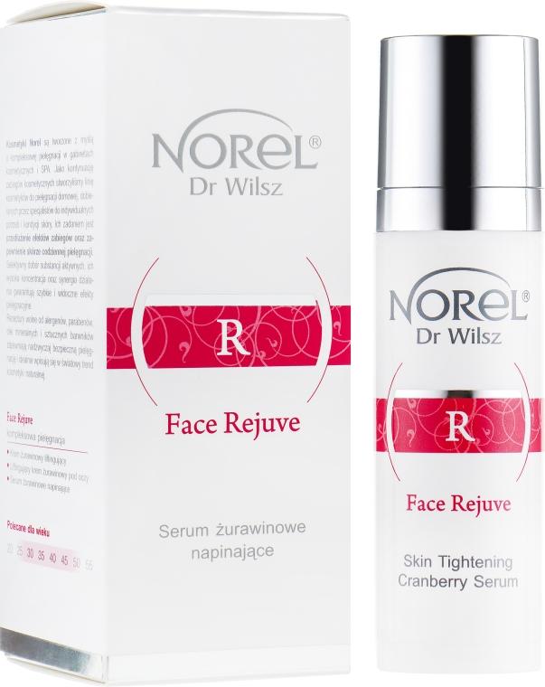 Лифтингующая сыворотка для зрелой кожи - Norel Face Rejuve Lifting Cranberry Serum