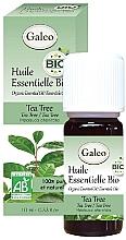 Духи, Парфюмерия, косметика Органическое эфирное масло чайного дерева - Galeo Organic Essential Oil Tea Tree